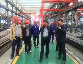 张海如一行在江西松昊重工企业调研