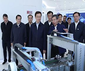 韩正副总理在江西调研